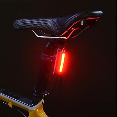 お買い得  自転車用ライト-自転車用ライト 後部バイク光 安全ライト テールランプ マウンテンサイクリング サイクリング 耐水 リチウム USB