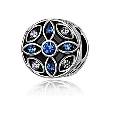 DIY Mücevherat 1 adet Koraliki Simüle Elmas alaşım Gümüş Yuvarlak Kalp boncuk 0.2 cm DIY Kolyeler Bilezikler