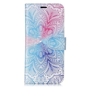 levne Galaxy S6 Pouzdra a obaly-Carcasă Pro Samsung Galaxy S8 Plus / S8 / S7 edge Peněženka / Pouzdro na karty / Flip Celý kryt Mandala Pevné PU kůže