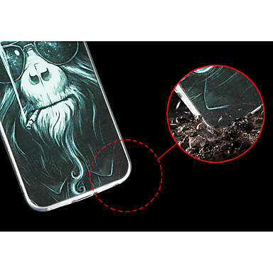 Per 04892200 iPhone Apple iPhone disegno X Custodia iPhone 8 iPhone 8 X 8 Per 8 Animali Fantasia iPhone per Morbido iPhone TPU Plus retro Plus dwSqBB