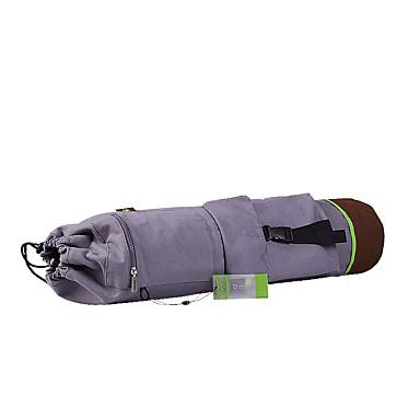 マットバッグ 73.0*26.0*26.0 cm エコ, 防水, 超ロング丈 コットン ために グレー, イエロー