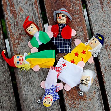 Pacynki na palce Kukiełki Zabawy w odgrywanie ról Zabawka edukacyjna Zabawki Zabawki Słodki Słodkie Plusz Dla dzieci Dla dziewczynek 6