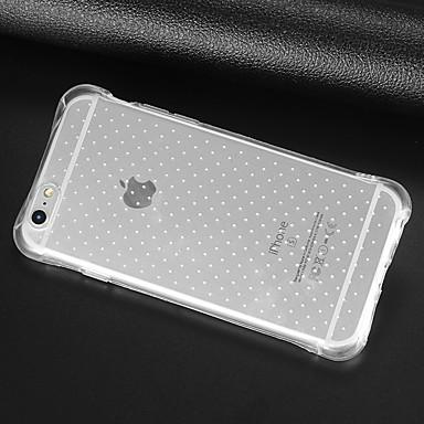 Кейс для Назначение Apple iPhone X iPhone 8 iPhone 8 Plus iPhone 6 iPhone 6 Plus Защита от удара Прозрачный Кейс на заднюю панель