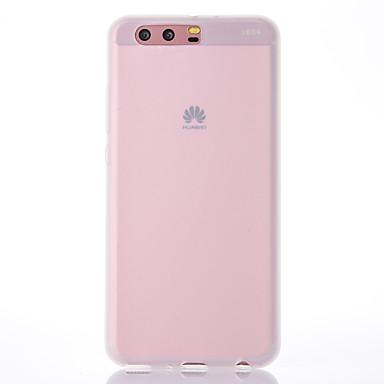 voordelige Huawei Mate hoesjes / covers-hoesje Voor Huawei P9 / Huawei P9 Lite / Huawei P10 Plus / P10 Lite / P10 Mat Achterkant Effen Zacht TPU