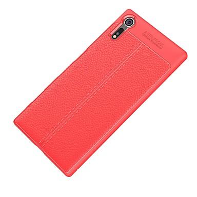 voordelige Hoesjes / covers voor Sony-hoesje Voor Sony Xperia XZ1 Compact / Sony Xperia XZ1 / Sony Xperia XZ Premium Ultradun Achterkant Effen Zacht TPU