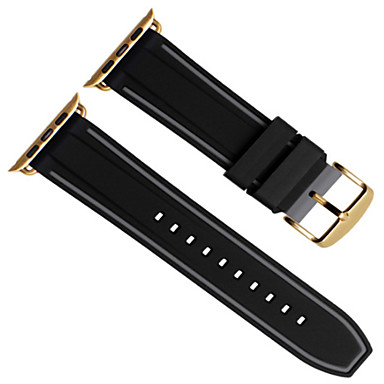 cheap Apple Watch Bands-Watch Band for Apple Watch Series 4/3/2/1 Apple Modern Buckle Silicone Wrist Strap