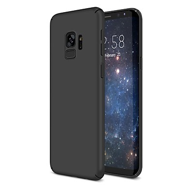 tanie Galaxy S6 Edge Etui / Pokrowce-Kılıf Na Samsung Galaxy S9 / S9 Plus / S8 Plus Ultra cienkie Osłona tylna Solidne kolory Twardość Plastik