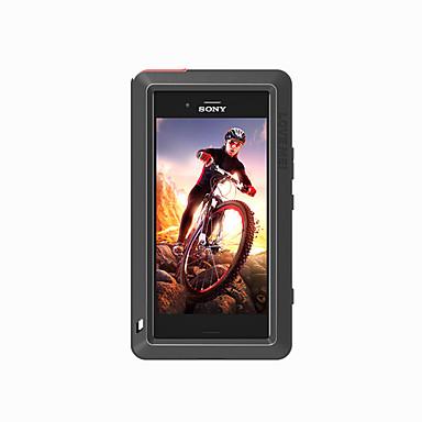 voordelige Hoesjes / covers voor Sony-hoesje Voor Sony Xperia XZ1 Compact Water / Dirt / Shock Proof Volledig hoesje Effen Kleur Hard Metaal