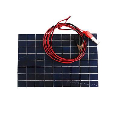 zdm® 10W 12V 0.65A monokryształów krzemu panel słoneczny (dc12-18v)