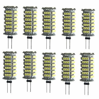 10pcs 2 W Luces LED de Doble Pin 200 lm G4 T 1 Cuentas LED SMD 3528 Decorativa Blanco Cálido Blanco Fresco 12 V