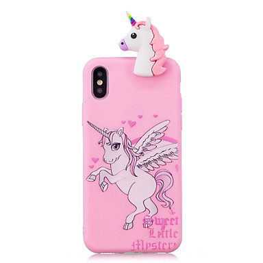 8 iPhone Morbido iPhone iPhone Fantasia iPhone Per retro 7 Unicorno 8 06583034 per iPhone TPU Custodia Apple Plus Per 8 Plus disegno iPhone X X xZn7CUq