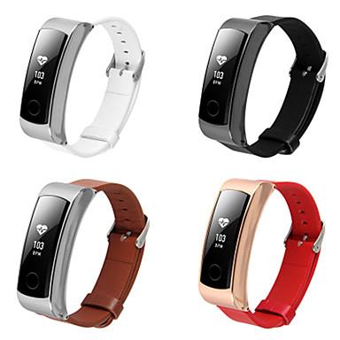 Недорогие Ремешки для часов Huawei-Ремешок для часов для Huawei Watch Huawei Классическая застежка Стали / Кожа Повязка на запястье