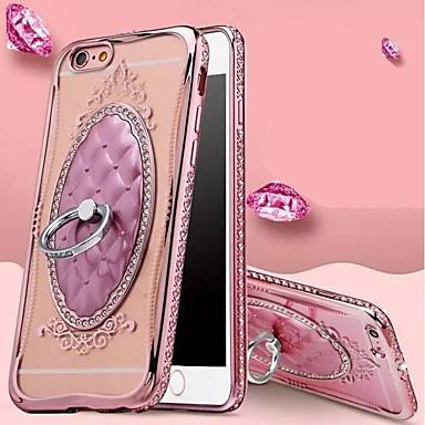 Morbido iPhone agli Custodia Supporto unica Per TPU Tinta iPhone 8 7 Plus per ad retro Apple Resistente 6 anello 06557053 Plus Per iPhone urti qPwASxP