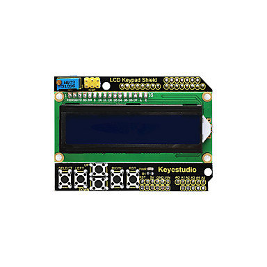 keyestudio 1602lcd tastiera shield per display lcd arduino atmega2560 per raspberry pi uno blue screen modulo blacklight