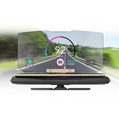 ziqiao auto universale gps HUD cap up display titular fotc standard, qi încărcător wireless pentru iPhone mount 5 6 7 plus navigație auto