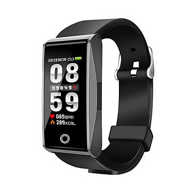 זול שעונים חכמים-חכמים שעונים ל iOS / Android מוניטור קצב לב / מודד לחץ דם / מידע / שליטה במצלמה / בקרת APP מד צעדים / מזכיר שיחות / מעקב שינה / תזכורת בישיבה / Alarm Clock / 120-150 / NRF51822