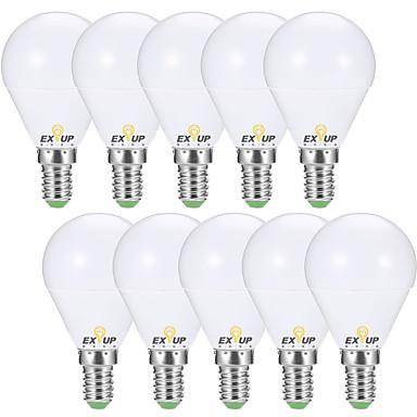 economico Lampadine LED-EXUP® 10 pezzi 7 W 680 lm E14 / E26 / E27 Lampadine globo LED G45 6 Perline LED SMD 2835 Decorativo Bianco caldo / Luce fredda 220-240 V / 110-130 V / RoHs / CCC / ERP / LVD