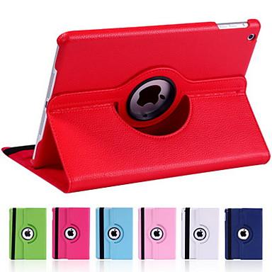 Capinha Para iPad Mini 4 iPad Mini 3/2/1 iPad 4/3/2 iPad Air 2 iPad Air Com Suporte Hibernação / Ligar Automático Rotação 360° Capa