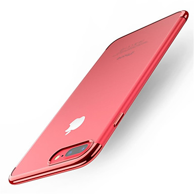 iPhone iPhone Per retro Plus 7 iPhone iPhone 8 Apple Tinta X TPU Custodia Morbido Placcato iPhone X 06611197 unita 8 8 iPhone Per per Traslucido EnzTHnqw8g