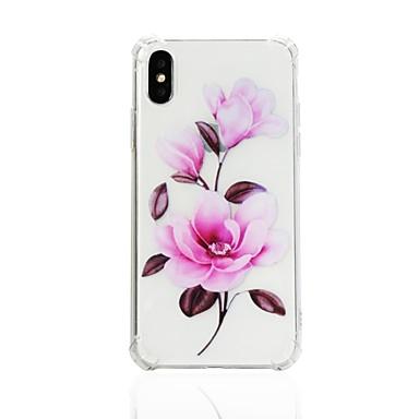 Custodia 8 Per Per Fantasia Fiore Morbido urti X disegno 06644099 Apple decorativo iPhone per retro iPhone Transparente Resistente TPU agli rwrxFqnB
