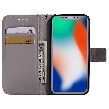 di Apple 8 portafoglio Per iPhone A Plus chiusura Integrale A X supporto magnetica Con carte Con calamita iPhone Custodia 06633005 credito Porta pqwzdS5Sx