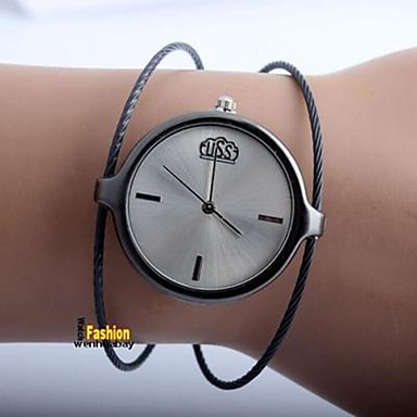 cheap Women's Watches-Women's Couple's Casual Watch Fashion Watch Quartz Silver Casual Watch Analog Ladies Casual Fashion - Black Silver Rose