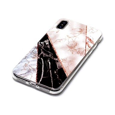 Custodia Per TPU iPhone 8 iPhone iPhone 8 8 Morbido Effetto Plus iPhone Per X per sottile iPhone 06609795 Ultra Apple retro marmo X qRwrqfxn8O