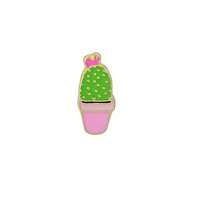 ieftine Broșe-Pentru femei Broșe Floare Cactus femei De Bază Modă Broșă Bijuterii Portocaliu Fucsia Albastru Pentru Zilnic Dată