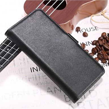 غطاء من أجل نوكيا Nokia 8 / 8 Sirocco / Nokia 7 محفظة / حامل البطاقات / قلب غطاء كامل للجسم لون سادة قاسي جلد أصلي / Nokia 6