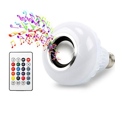 1pc intelligente e27 rgb bluetooth lautsprecher f hrte gl hbirne licht 12 watt musik spielen. Black Bedroom Furniture Sets. Home Design Ideas