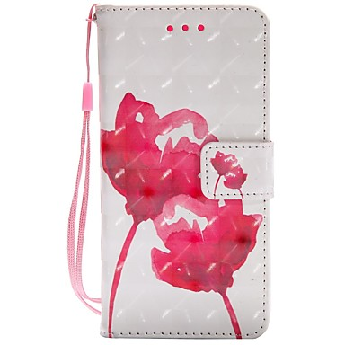 [$6.99] Case For Samsung Galaxy A8 2018 A5(2017) Card Holder Wallet with Stand Flip Magnetic Full Body Cases Flower Hard PU Leather for A3(2017)