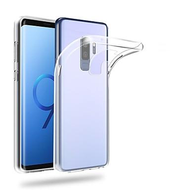 Etui Til Samsung Galaxy S9 Plus / S9 Ultratyndt / Transparent Bagcover Ensfarvet Blødt TPU for S9 / S9 Plus / S8 Plus