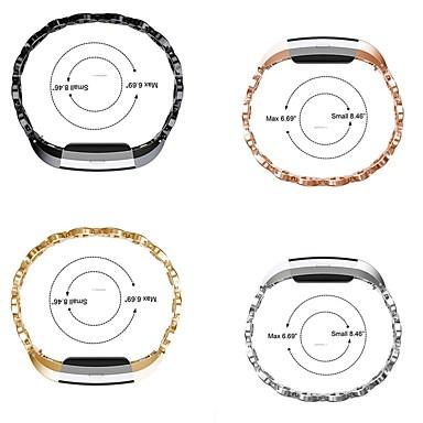 시계 밴드 용 Fitbit Charge 2 핏빗 스포츠 밴드 스테인레스 스틸 손목 스트랩