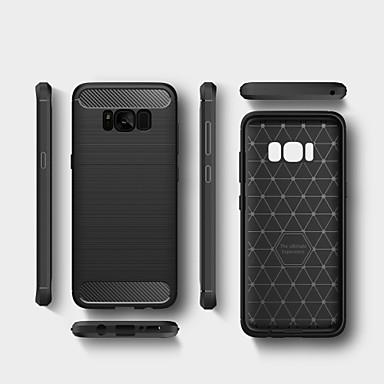 Kılıf Na Samsung Galaxy S8 Plus S8 Odporne na wstrząsy Czarne etui Solid Color Miękkie TPU na S8 Plus S8 S7 edge S7 S6 edge S6