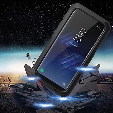 voordelige Galaxy S-serie hoesjes / covers-hoesje Voor Samsung Galaxy S9 / S9 Plus / S8 Plus Schokbestendig / Waterbestendig Volledig hoesje Schild Hard Metaal