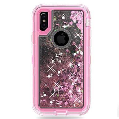 Plus iPhone Integrale X PC Liquido Plus Resistente Resistente per 06715508 Apple 8 iPhone cascata Glitterato 8 Armatura iPhone Glitterato agli Per iPhone a X 8 Custodia urti iPhone RS1qS6