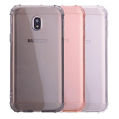 voordelige Galaxy J-serie hoesjes / covers-hoesje Voor Samsung Galaxy J7 (2017) / J5 (2017) / J3 (2017) Schokbestendig / Transparant Achterkant Effen Zacht TPU