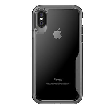 retro 8 06695513 Per unita Custodia X specchio Resistente Morbido A iPhone iPhone agli per Apple iPhone Silicone Transparente Per urti Tinta RwwXO
