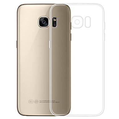 Coque Pour Samsung Galaxy S7 Transparente Coque Couleur Pleine Flexible TPU pour S7
