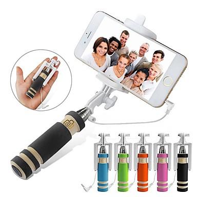 halpa Selfiekeppi-VORMOR Selfie-tikku Johdolliset Pidennettävä Maksimi pituus 60 cm Käyttötarkoitus Android / Kansainvälinen / iOS Android / iOS