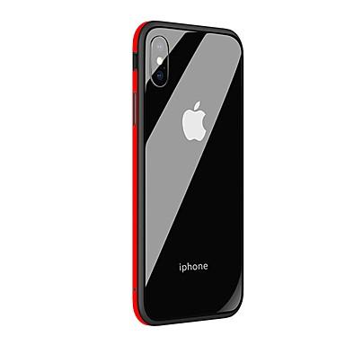 X specchio Per Custodia temperato Vetro Resistente iPhone X agli 8 per retro 06715230 Per Resistente urti Apple iPhone iPhone unita A Tinta tvBdqB