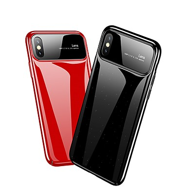 Resistente specchio 8 X A Plus 06695518 iPhone Per iPhone 8 PC Custodia Apple X per iPhone Per iPhone Tinta Ultra retro unita sottile w6qp0AX