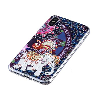 Elefante iPhone 06715426 iPhone iPhone iPhone Custodia iPhone X 8 retro Per disegno Plus Morbido 8 Apple TPU 8 X per Fantasia Plus Per BxqEP