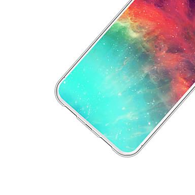 Cartoni disegno iPhone e Fantasia Morbido Custodia retro 06715516 animati Per 8 iPhone sfumato graduale Apple X Per Colore Paesaggi Plus Rxnf7qgw