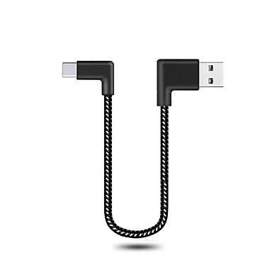 Type-C Tressé / Haut débit / Charge rapide Câble Macbook / Samsung / Huawei pour 20 cm Pour Nylon