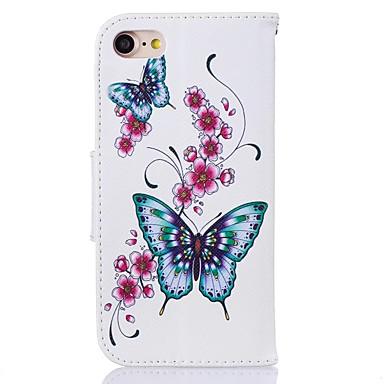 iPhone supporto Apple Integrale Custodia Porta credito Con Farfalla portafoglio iPhone di pelle A 7 Resistente sintetica carte 06671141 Per 6 5OO6Iw