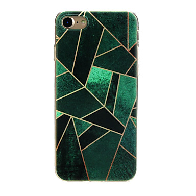 Case For Apple iPhone X / iPhone 7 Ultra-thin / Pattern / Lovely Back Cover Geometric Pattern Soft TPU for iPhone X / iPhone 8 Plus / iPhone 8