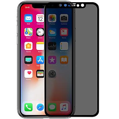 Недорогие Защитные плёнки для экрана iPhone-AppleScreen ProtectoriPhone X Уровень защиты 9H Защитная пленка на всё устройство 1 ед. Закаленное стекло