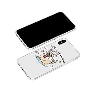 8 iPhone Per Apple retro iPhone animati X Per Fantasia per Morbido Con disegno TPU iPhone X Plus Custodia cagnolino Cartoni 06715515 wqEXCd5q