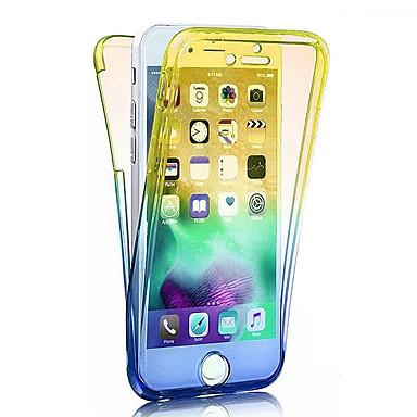 Custodia sfumato iPhone graduale iPhone 8 Morbido 8 8 iPhone Apple Integrale per TPU iPhone X Per Plus X e 06769323 Traslucido Colore iPhone PIzrZqP